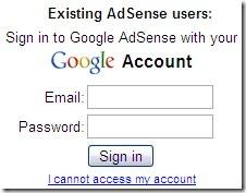 AdSense Login