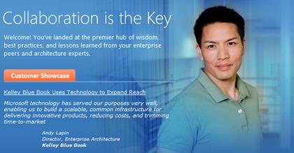 Microsoft Architecture Website