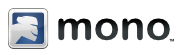 Mono.  Trademark by Novell.