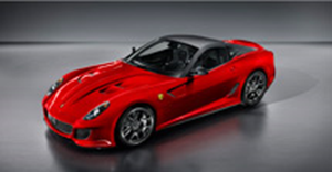 The awesome Ferrari 599 GTO. Copyright © Ferrari S.p.A.