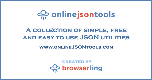 Online JSON Tools for Programmers